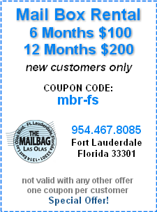 Our Best Price Mailbox Rental Coupon Special Offer!