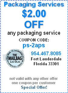 Our Best Packaging Services Coupon Special Offer!