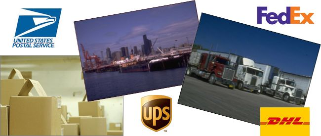 Shipping Services - FedEx, UPS, DHL, USPS, International